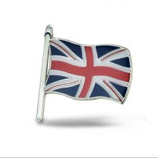 Union Jack flag badge