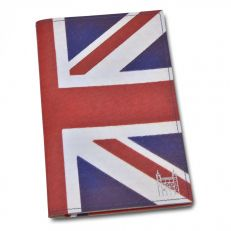 Union Jack passport holder