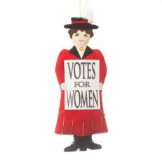 Votes for women suffragette decoration