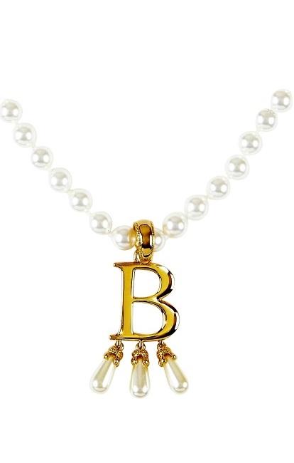 Anne Boleyn Initial Necklace