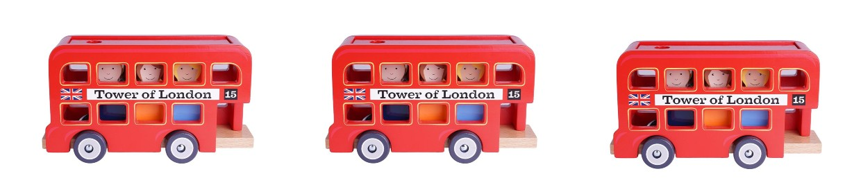 Little London toy buses