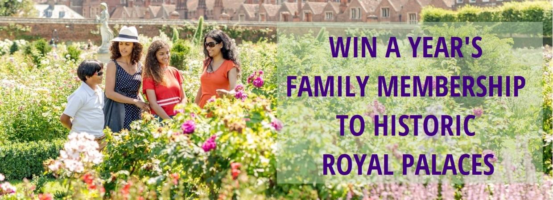 Win a year's family membership
