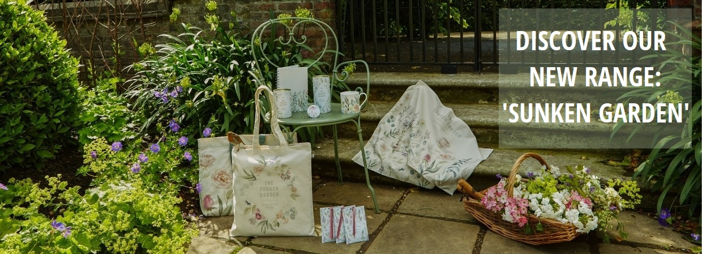 Discover our new range: 'Sunken Garden'