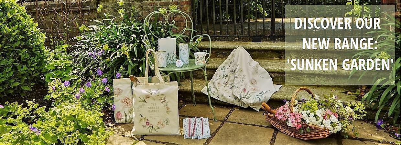 Shop our new 'Sunken Garden' range