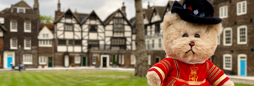 Beefeater Teddy Bear at the Tower of London