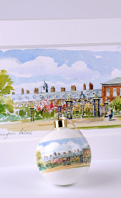 Kensington Palace watercolour gift collection